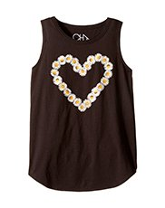 Image of a black tank with a heart graphic