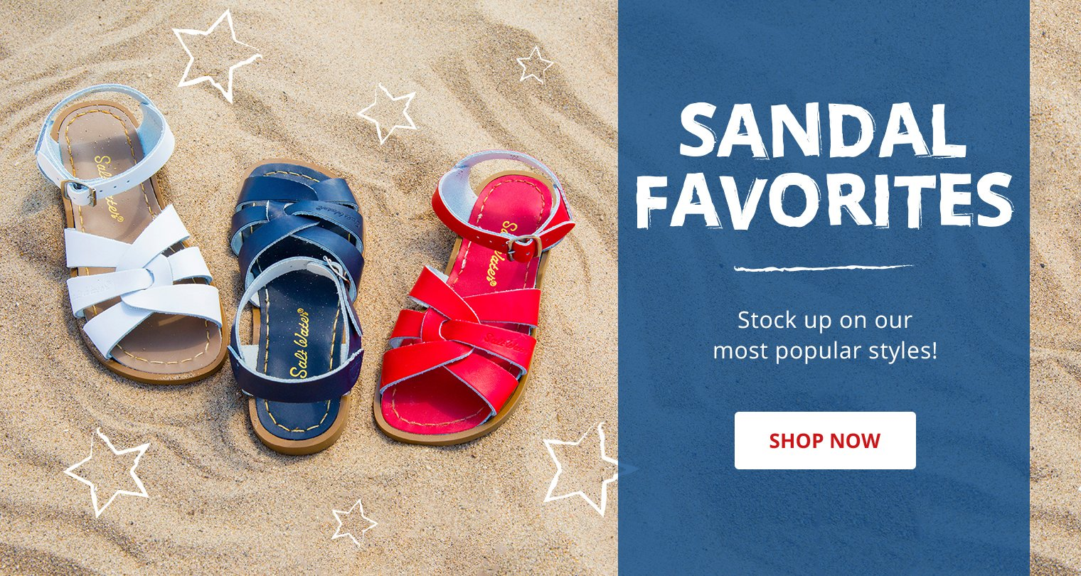 Sandal favorites. Stock up on our must popular styles. Shop now.
