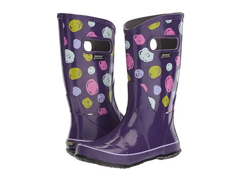 Girls Purple Rain Boots