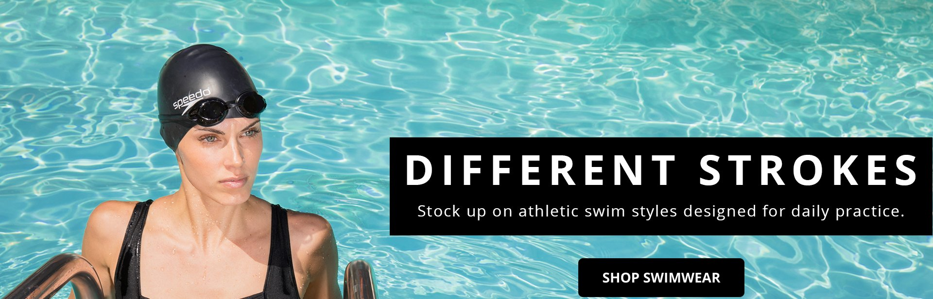 Different Strokes. Stock up on athletic swim styles designed for daily practice. Shop Swimwear