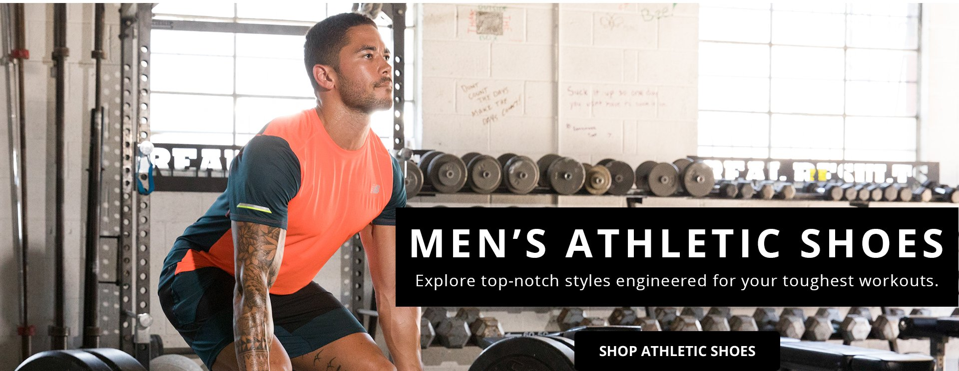 Men's Athletic Shoes. Explore top-notch styles engineered for your toughest workouts. Shop Athletic Shoes.