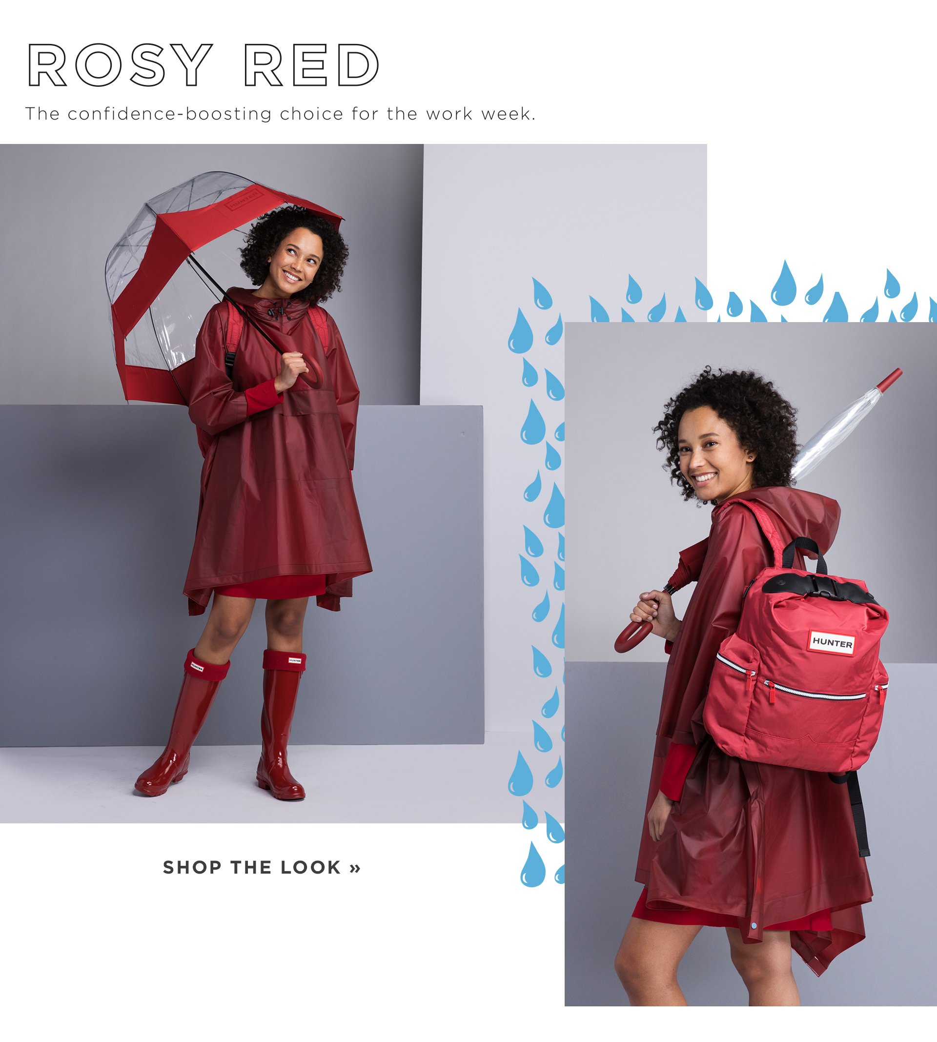 Rosy Red Shop The Look