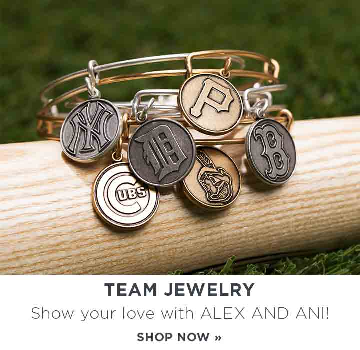 Team Jewelry. Show your love with ALEX AND ANI! Shop Now