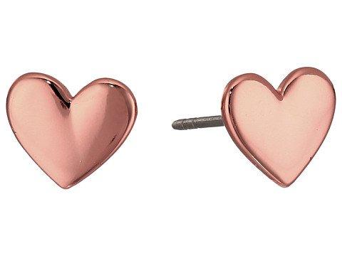 Image of heart earrings