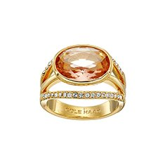 Image of a gold statement ring