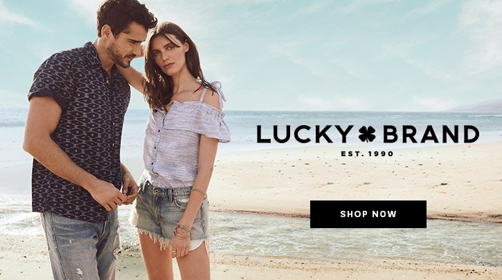 Lucky Brand. Shop Now.