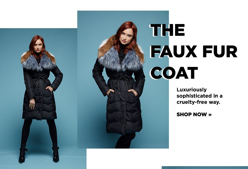 The Faux Fur Coat