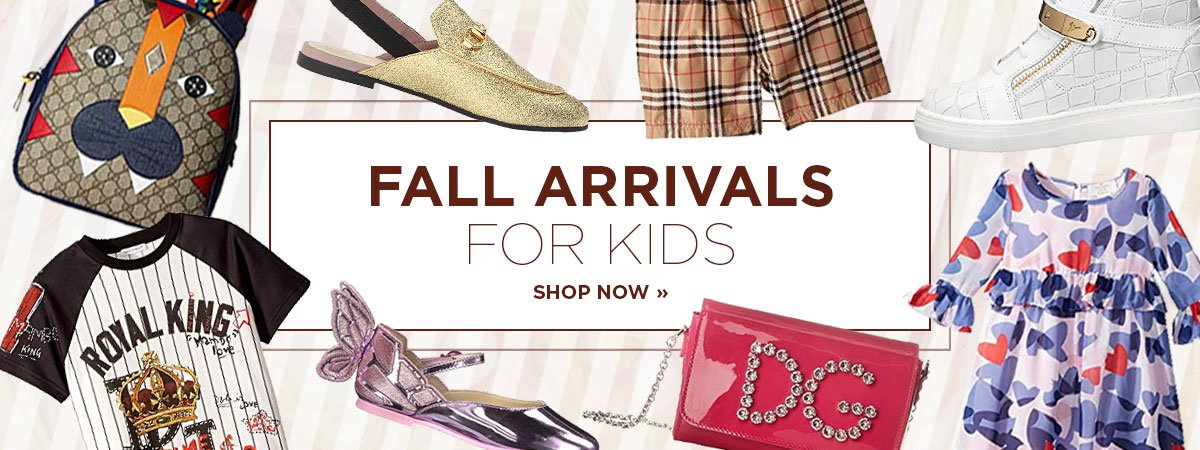 SHOP FALL KIDSWEAR