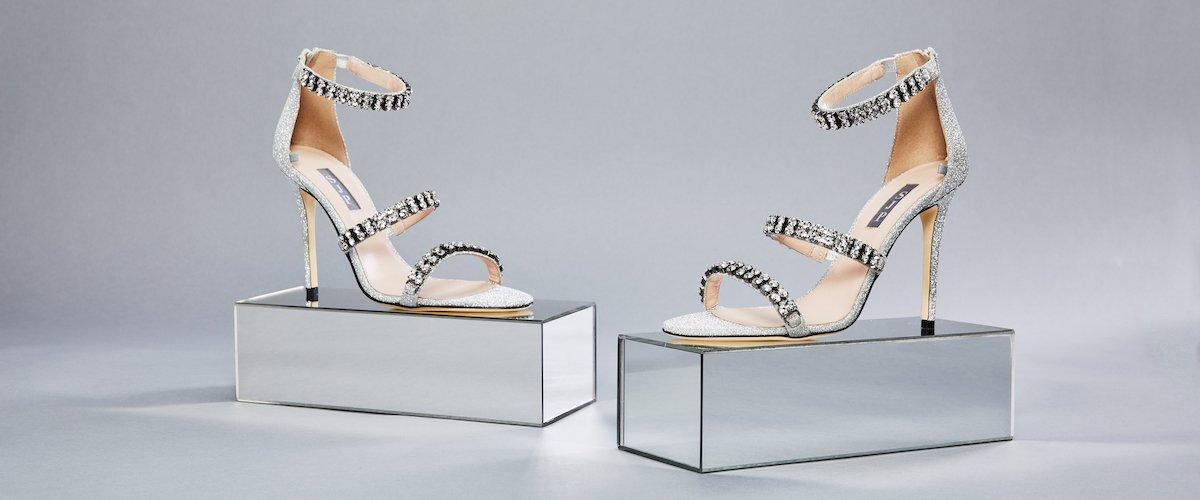 Shop Silver Heels