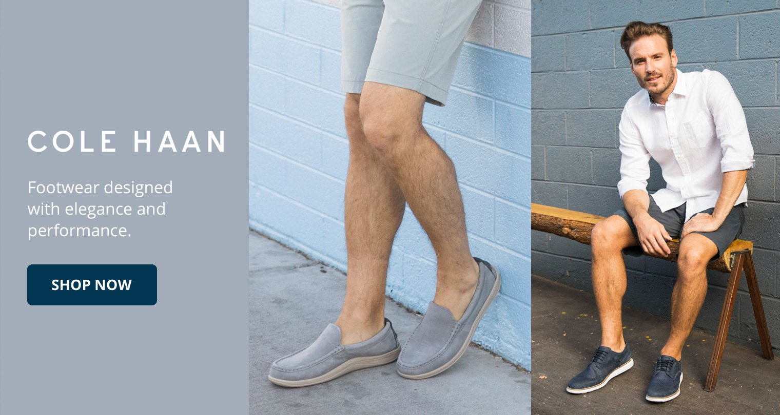 Cole Haan. Footwear designed with elegance and performance. Shop Now.