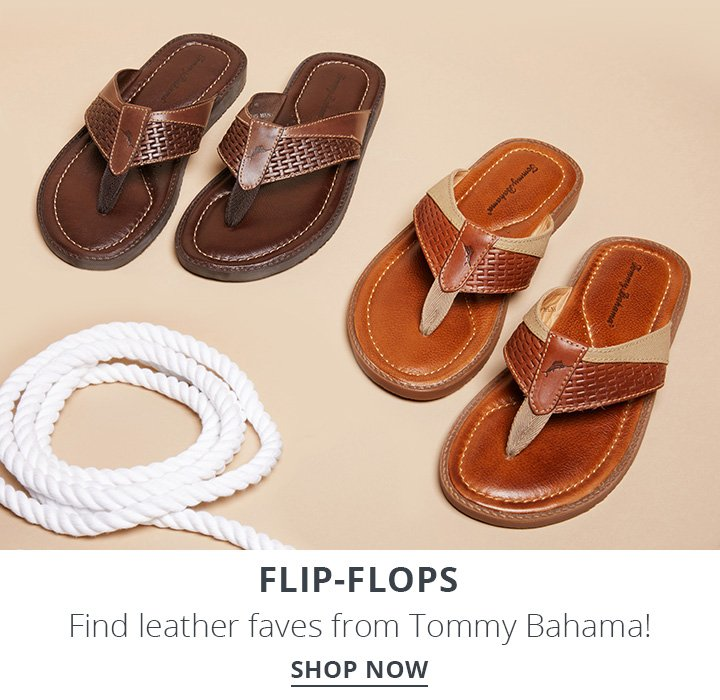Flip-Flops. Find leather faves from Tommy Bahama! Shop Now.