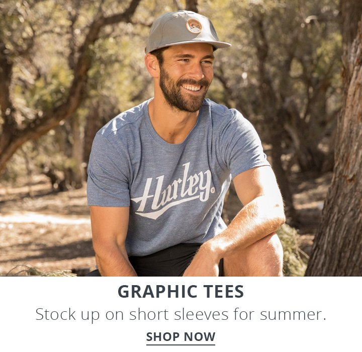 Graphic Tees. Stock up on short sleeves for summer. Shop Now.