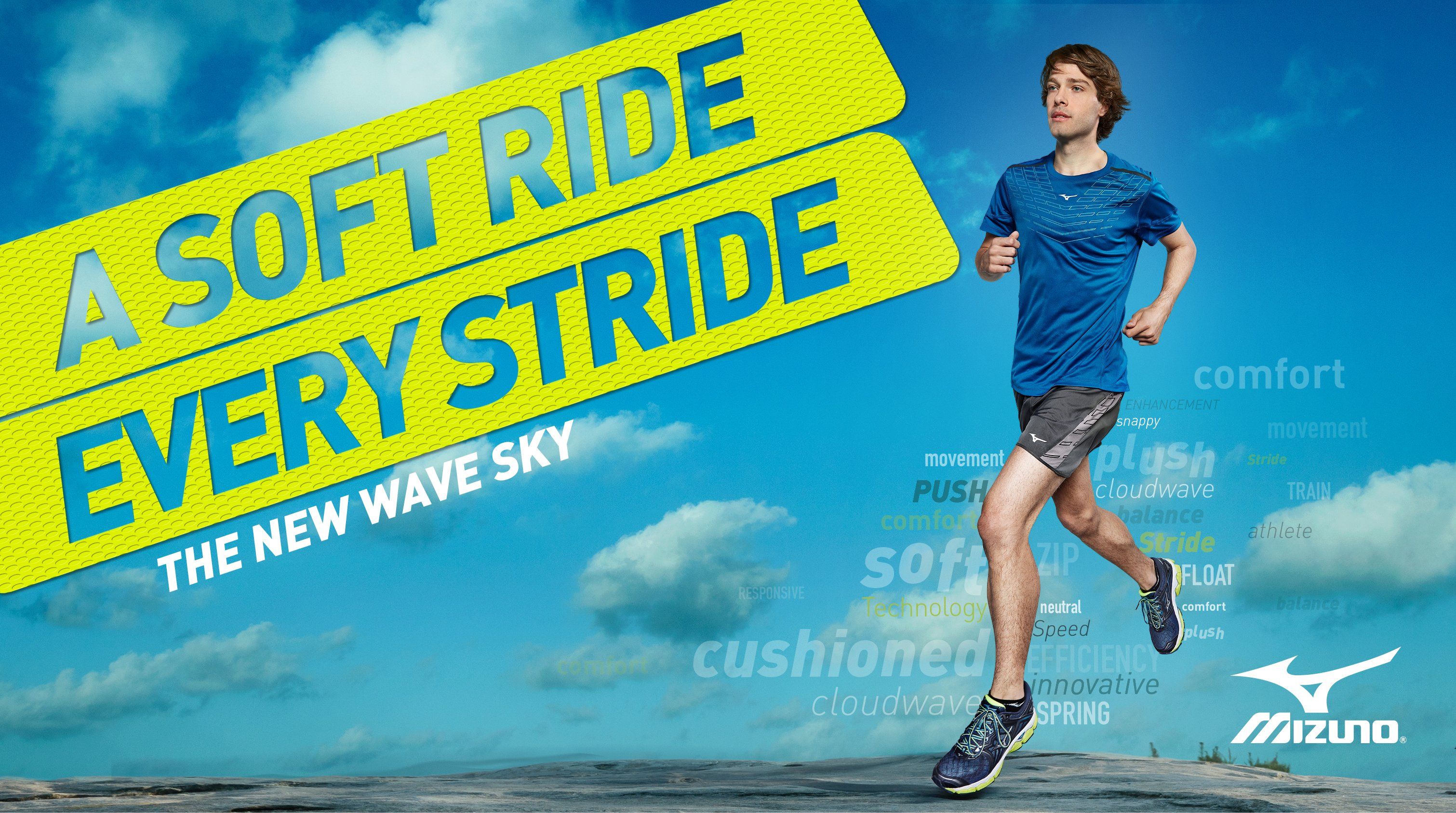 A soft ride every stride. Shop the new Wave Sky. Shop Now.