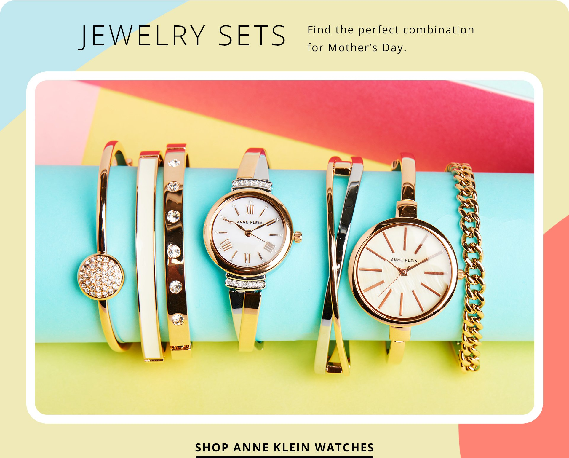 Jewelry Sets. Find the perfect combination for Mother's Day. Shop Anne Klein watches.