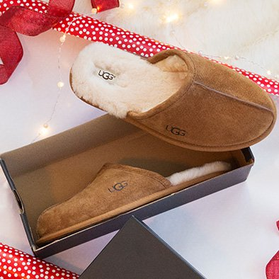 Image links to best selling men's UGG slippers