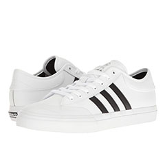 Image of white and black adidas