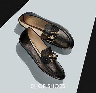 Image of Nine West Black Loafers. Image links to all Women's Nine West footwear.