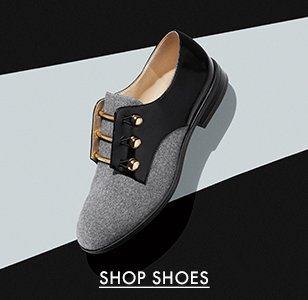 cp-3-shoes-2017-8-16 Shop shoes. Image of a grey and black loafer