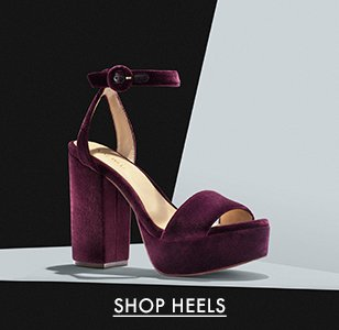 cp-1-heels-2017-8-16 Shop Heels. Image of purple velvet Nine West heels