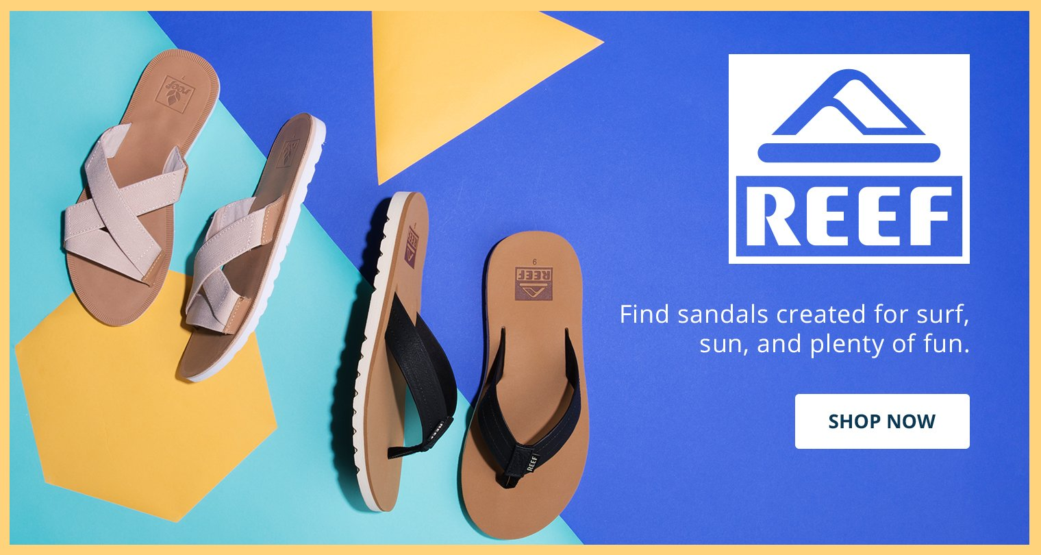 Reef. Find sandals created for surf, sun and plenty of fun. Shop Now.