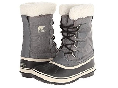 image of Sorel Boots. Image links to lace up snow boots.