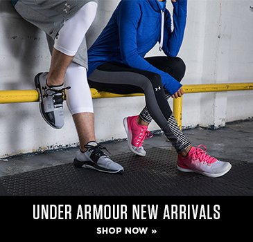 Promo - Under Amour New Arrivals