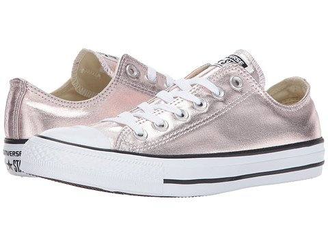 Image of rose gold converse sneakers
