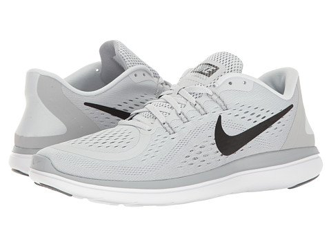 Image of light grey Nike sneakers