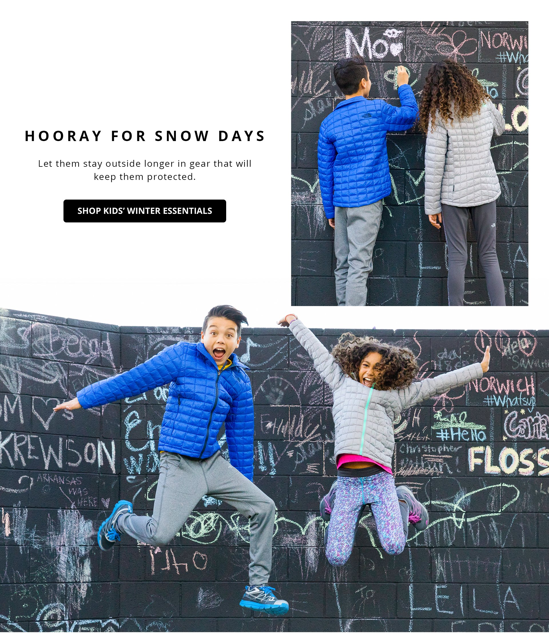 Shop Kids Winter Essentials