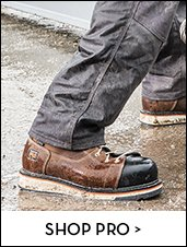 Clickable image of a person wearing Timberland Pro work boots