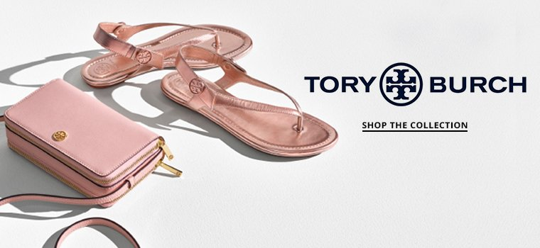 Hero 1: Tory Burch. Shop Collection.