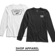 Shop Vans clothing