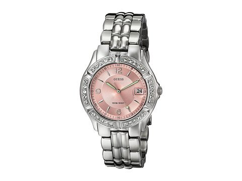 cp-2-07-5-2017 Shop Guess Watches. Image of a silver watch.