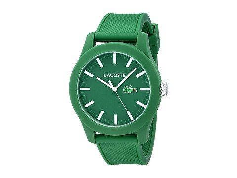 cp-04-03-2017 Shop Lacoste. Image of a green watch