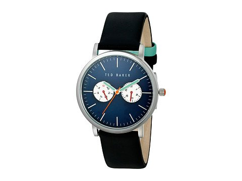 cp-3-leather-02-02-2017 Shop Leather Watches. Image of a black leather watch
