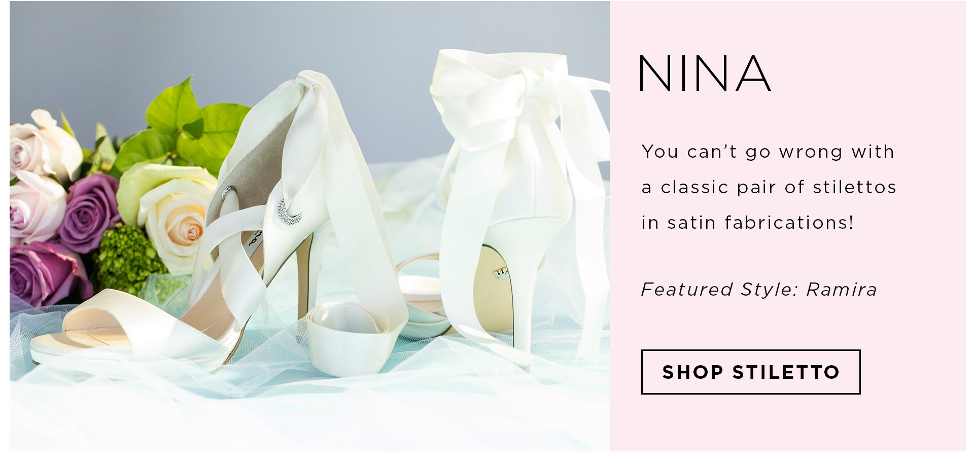Header Wedding Footwear Favorites Badgley Mischka Shop Nina