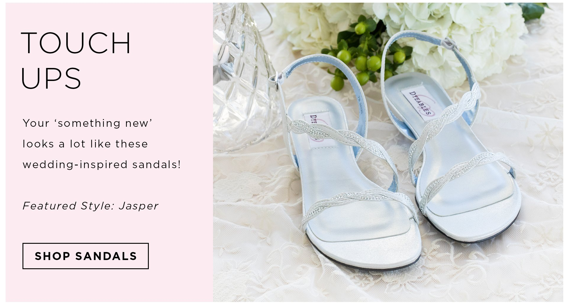Wedding shoes bridal flats sandals heels more zappos touch ups shop all wedding footwear junglespirit Image collections