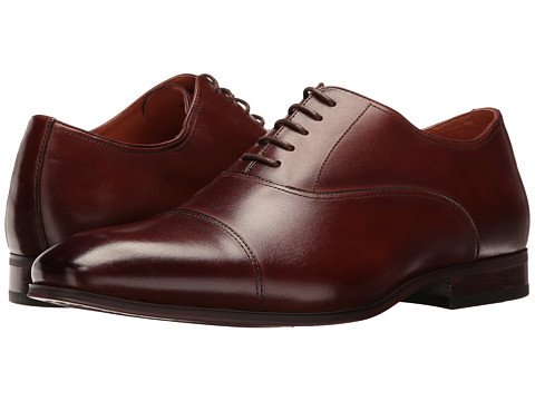 Image of Men's Brown Oxford Dress Shoes. Links to selection of men's oxford dress shoes.