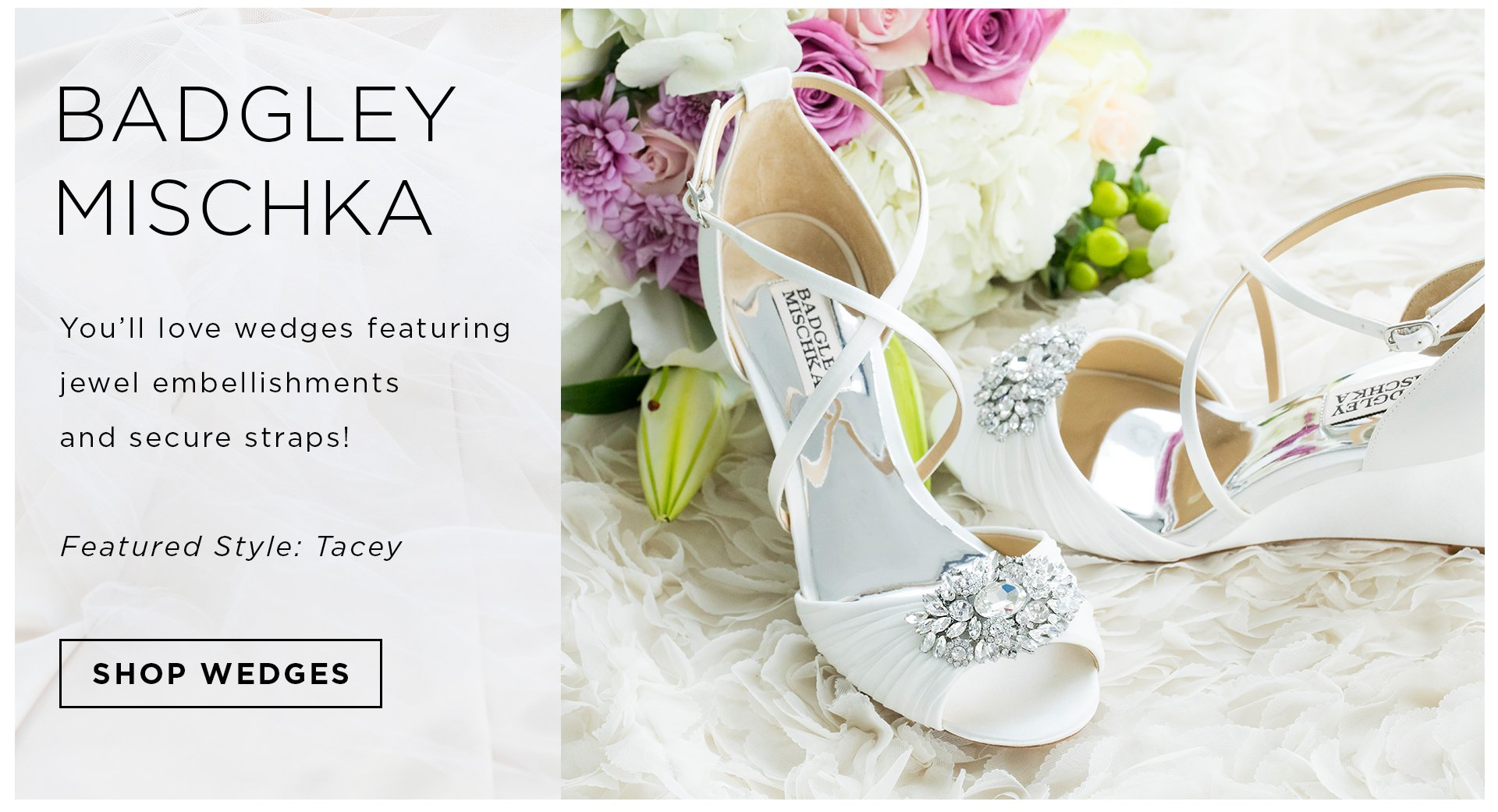Header Wedding Footwear Favorites Badgley Mischka