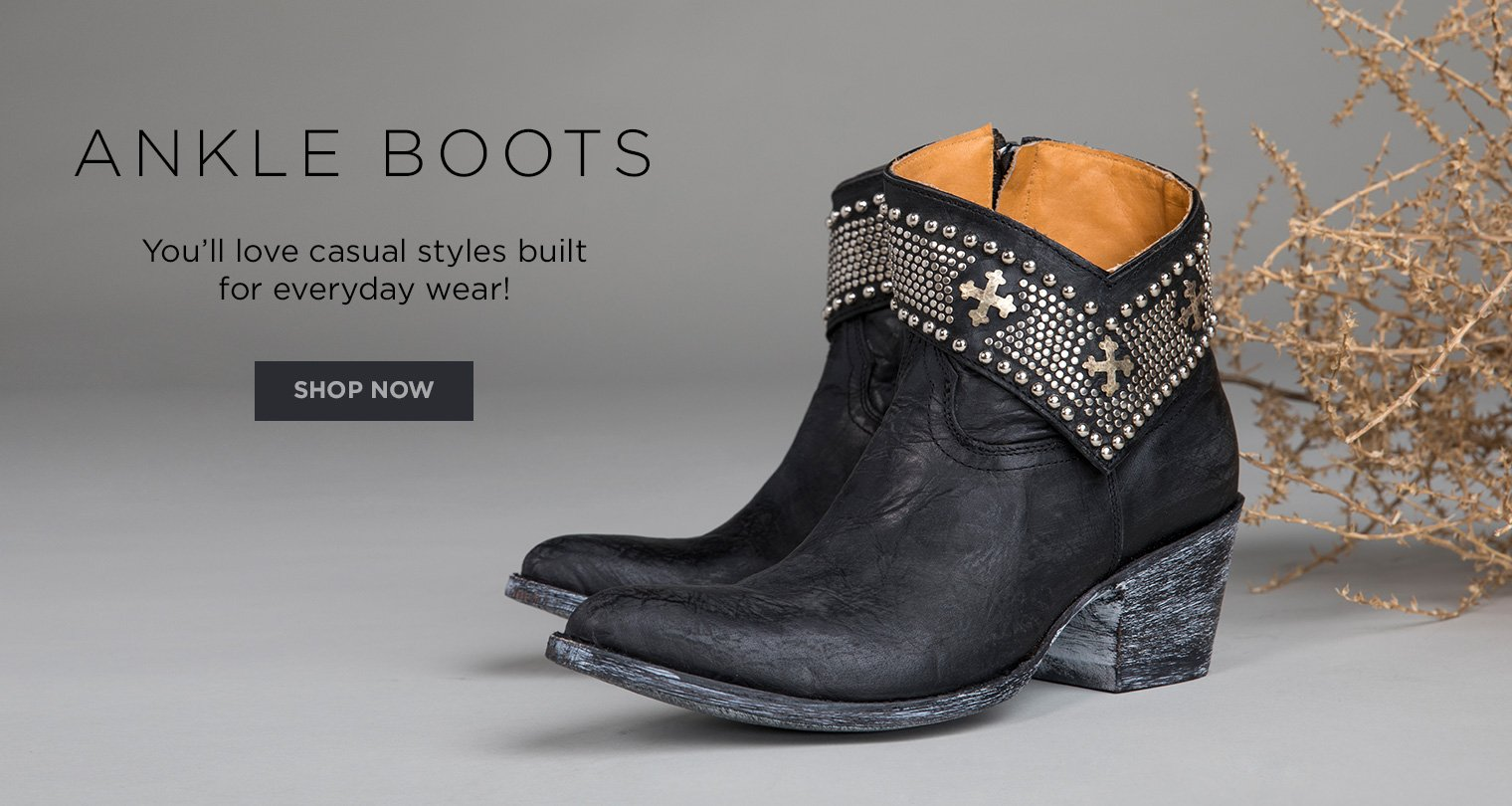 Ankle Boots. You'll love casual styles built for everyday wear! Shop now.