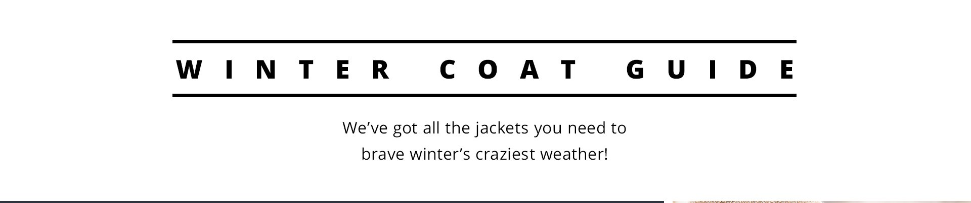 Winter Coat Guide Header