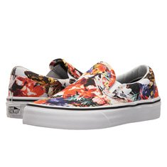 Image of floral Vans sneakers