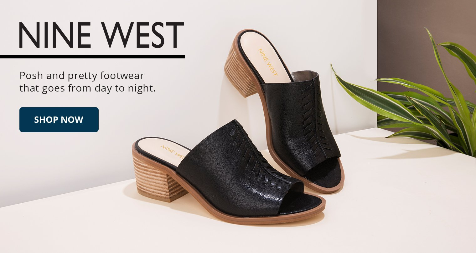 Nine West. Posh and pretty footwear that goes from day to night. Shop Now.