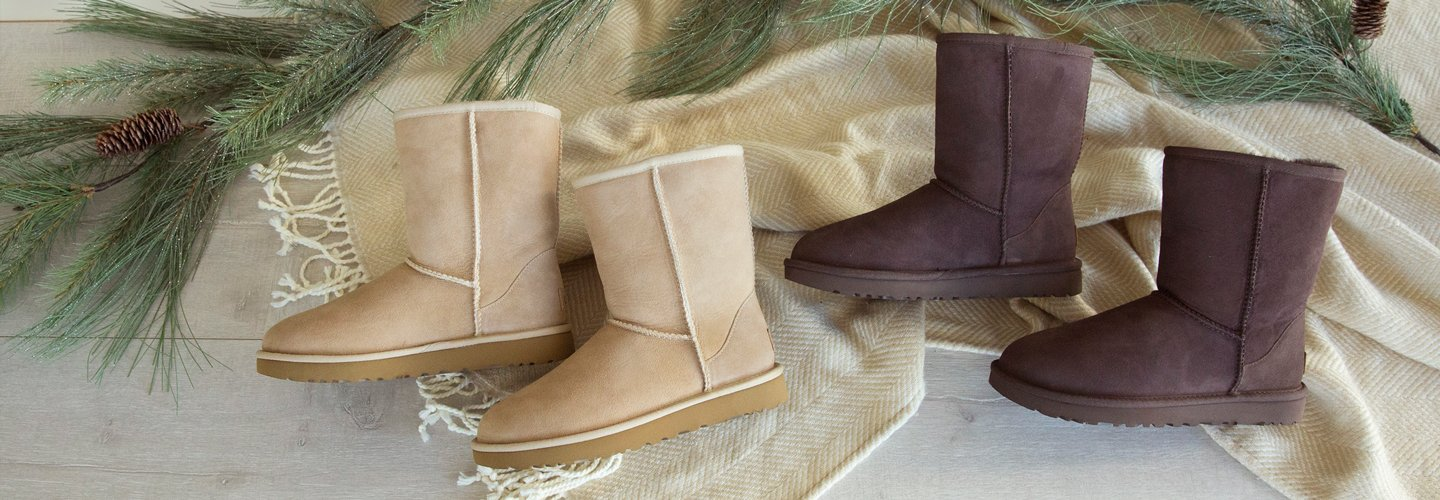 image of two pairs of UGGs