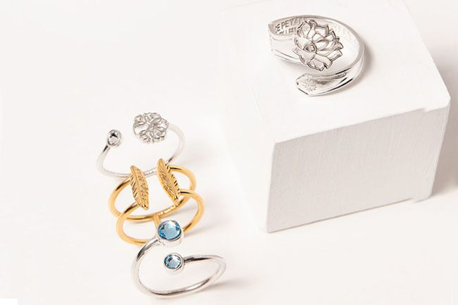 link to shop Precious Rings Collection