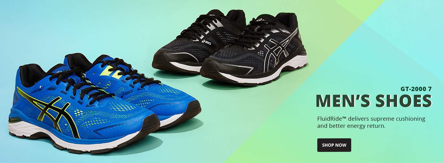 FluidRide™ delivers supreme cushioning and better energy return.