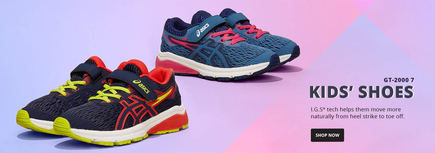Kids' Shoes.I.G.S® tech helps them move more naturally from heel strike to toe off.Shop Now