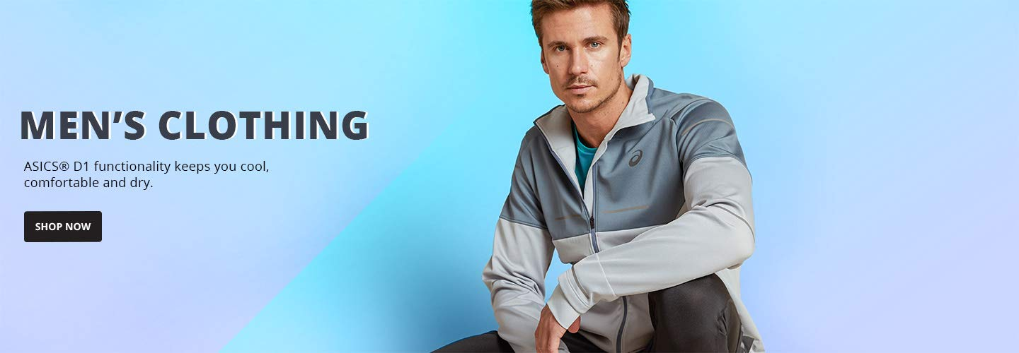 Men's Clothing. ASICS® D1 functionality keeps you cool, comfortable and dry. Shop Now