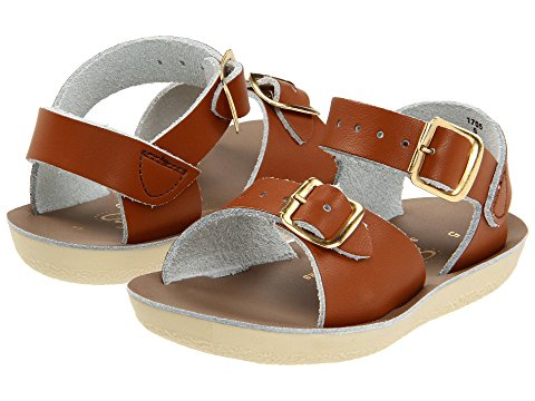 Image of Kids' Brown Salt Water Sandals. Image links to all salt water sandal shoes.
