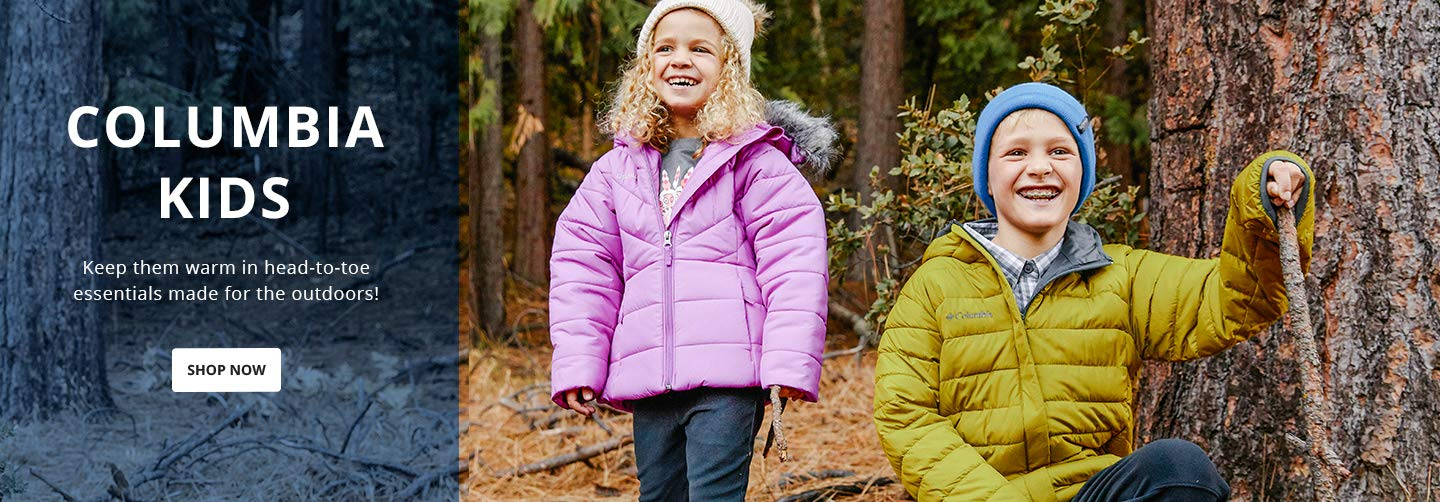 Columbia Kids. Keep them warm in head-to-toe essentials made for the outdoors! Shop Now.